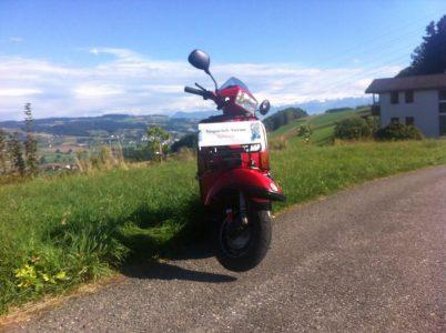 Stefans Vespa Usfahrt @ Landi, Schötz | Schötz | Luzern | Schweiz