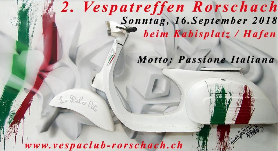 2. Vespa Treffen Rorschach @ Kabisplatz, Rorschach | Rorschach | Sankt Gallen | Schweiz