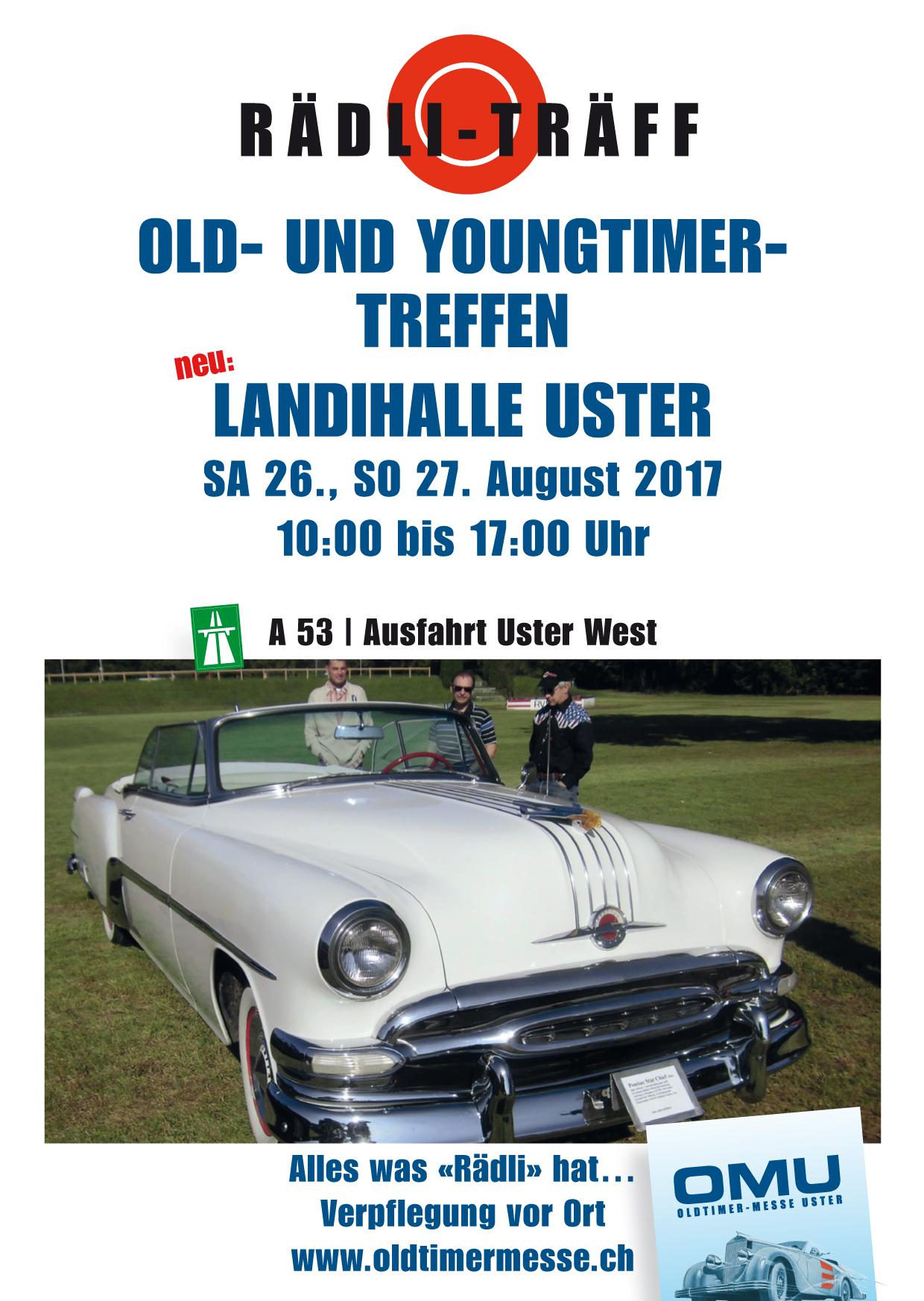 Old- & Youngtimer Treffen Uster @ Stadt- und Landihalle Uster