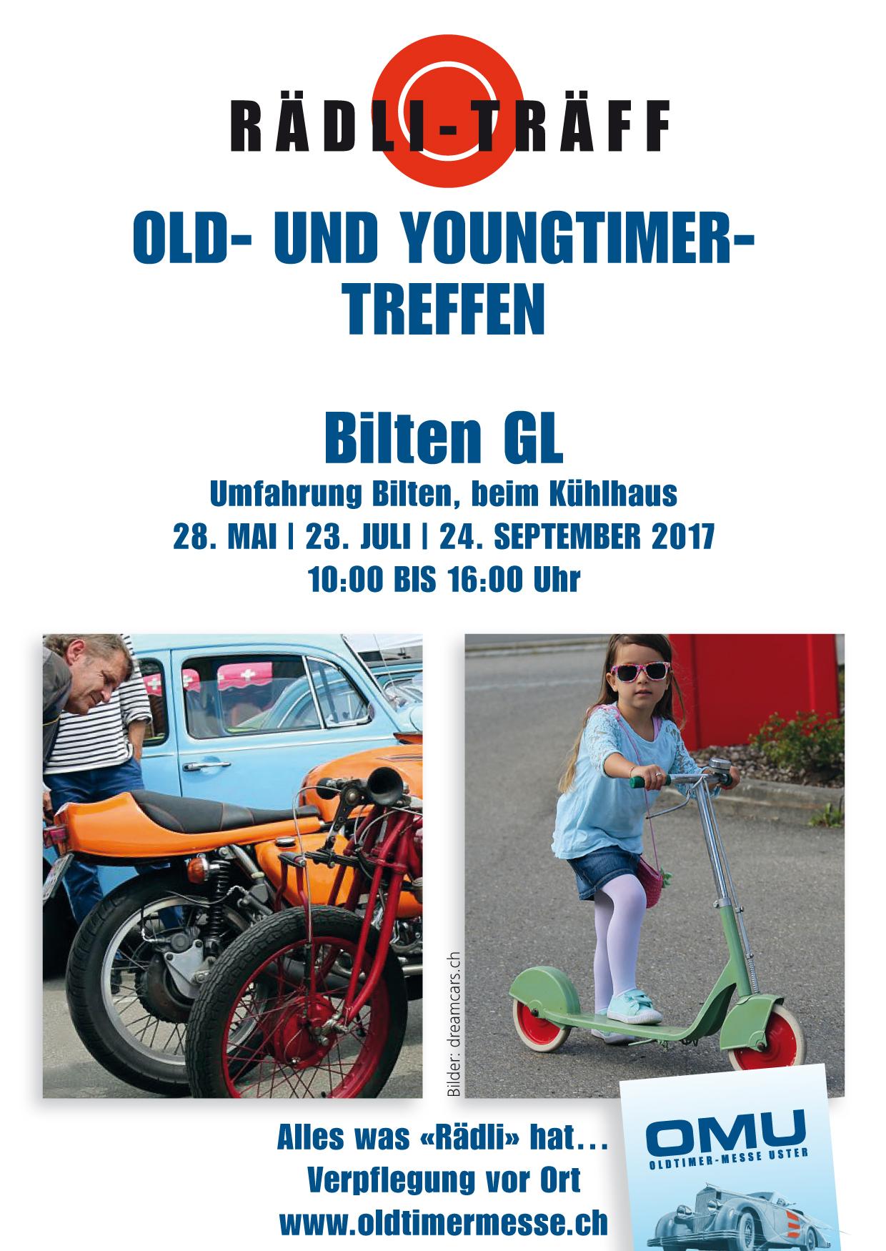 Rädli-Träff Bilten GL @ beim Kühlhaus, Bilten GL | Bilten | Glarus | Schweiz