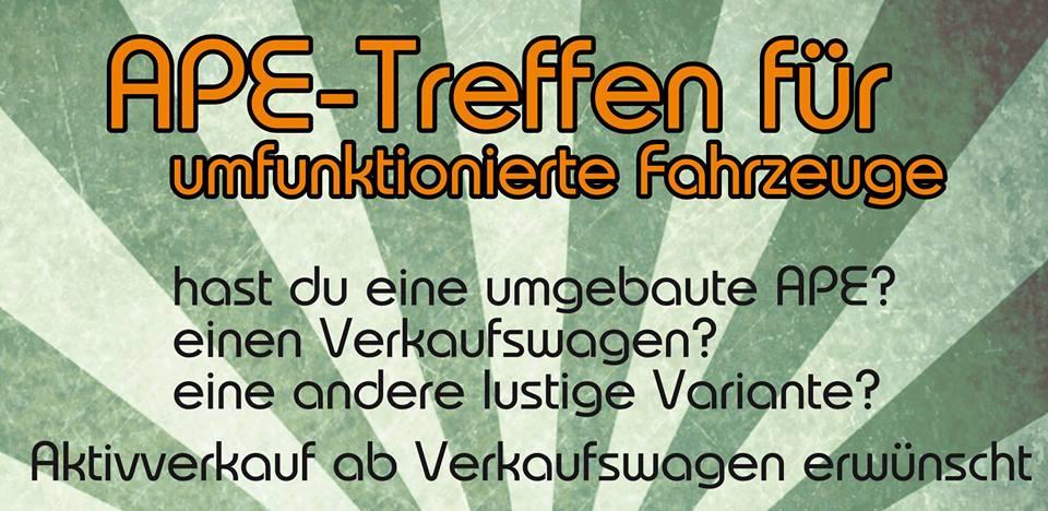 Ape Treffen für umfunktionierte Fahrzeuge @ Bischofszell, Grubplatz | Bischofszell | Thurgau | Schweiz