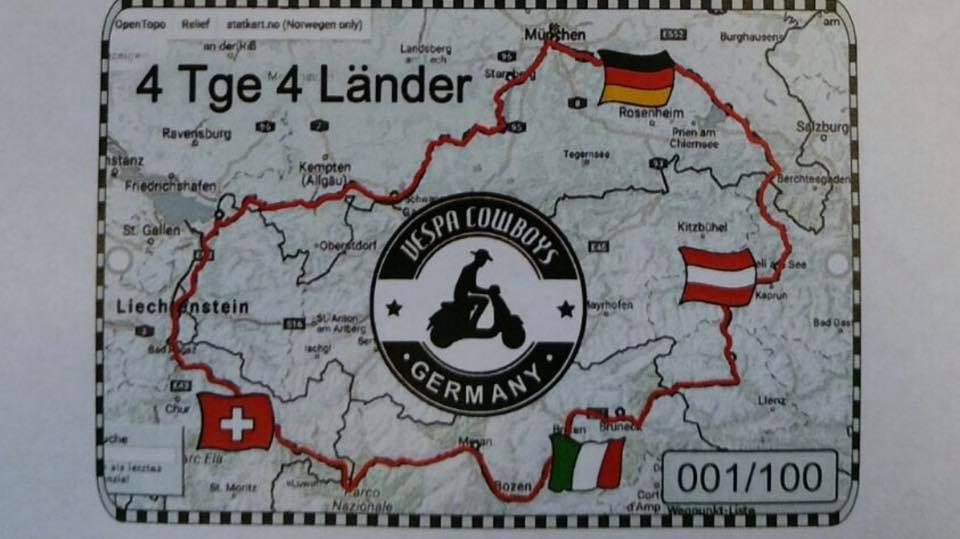 4 Tage/4 Länder - 4 Giorni/4 Nazioni @ Treffpunkt: Odeonsplatz München | München | Bayern | Deutschland