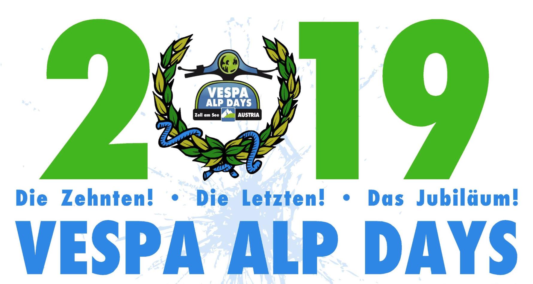 Vespa Alp Days 2019 - Das 10 Jahres Jubiläum! - The Alp Days 2019 @ Zell am See | Zell am See | Salzburg | Österreich
