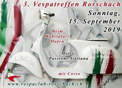 3. Vespa Treffen Rorschach @ Hafenplatz | Rorschach | Sankt Gallen | Schweiz