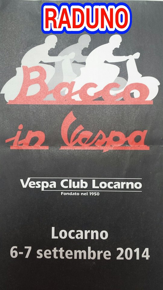 Plakat Raduno Bacco in Vespa