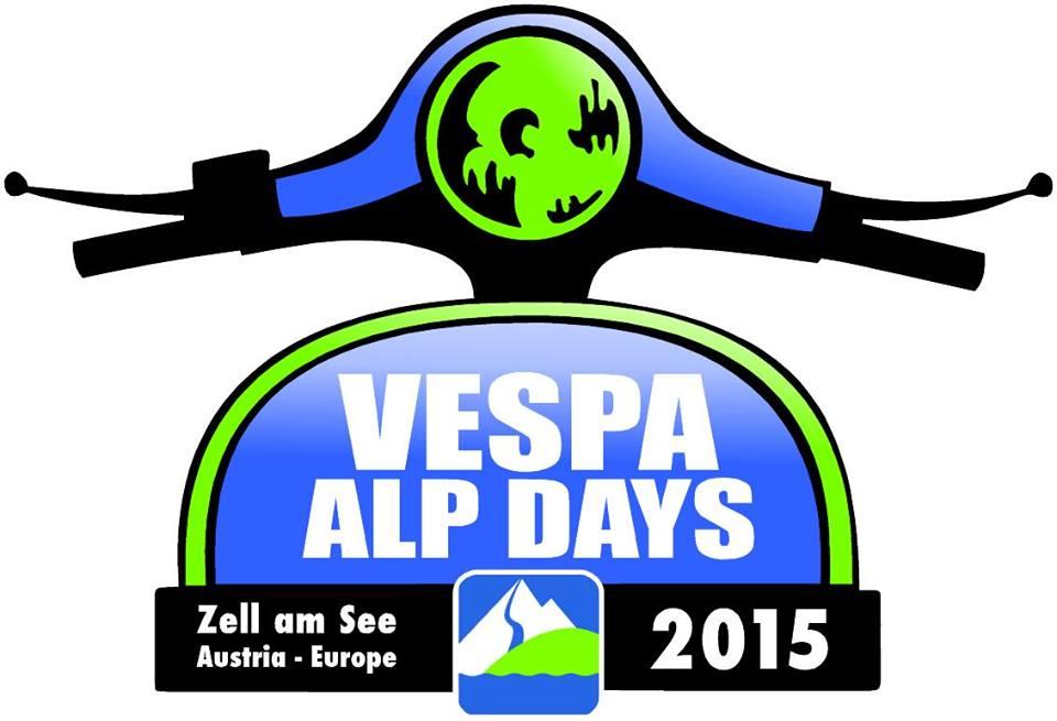 Logo Vespa Alp Days 2015