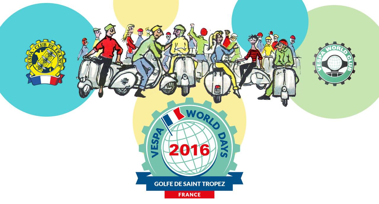 VWD Vespa World Days - Golf de Saint Tropez - Banner