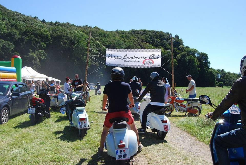 Vespa & Lambretta Club Vorarlberg Foto Treffen